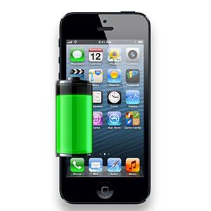 byte av batteri på iphone 5s